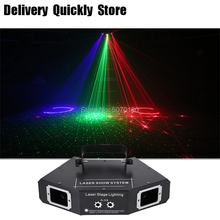 DJ Dance Bar Coffee Xmas laser disco 4 Len RGB Laser image Lines Scans lazer Home Party Disco Effect Lighting Light System Show mini red blue laser stars lines pattern projector remote lighting light dance disco bar party dj xmas effect stage lights show