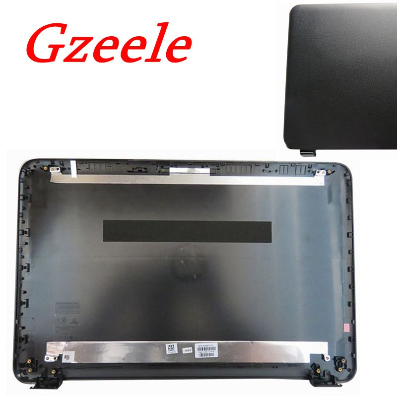 GZEELE New For HP 15-ac 15-af 250 G4 255 G4 256 G4 15-BA 15-BD 15-AY 15-AY013NR Laptop LCD Back Cover Case Top Rear LId BLACK