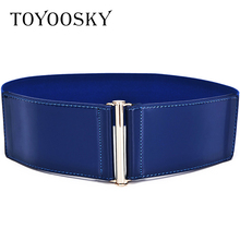 2018 New Arrival Genuine Leather Belt for Womens Dresses Luxury Ceinture Femme High Quality Girdle Belts TOYOOSKY