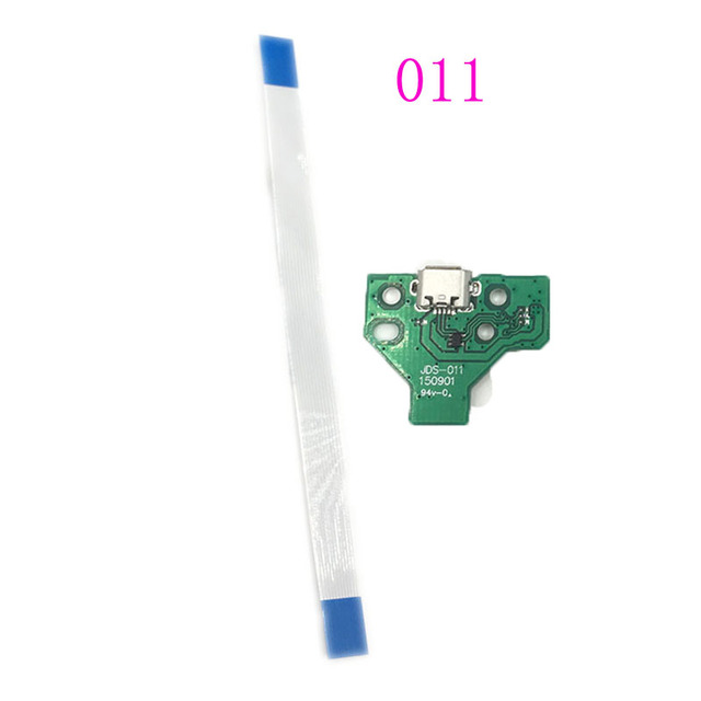 For PS4 Controller USB Charging Port Socket Circuit Board 12Pin JDS 011 030 040  14Pin 001 Connector 4