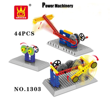 Enlighten Child Toys Creative Building Blocks Shooting Machinery Lego Compatible Plastic Assembly Toys Bircks For Boys 44pcs/set