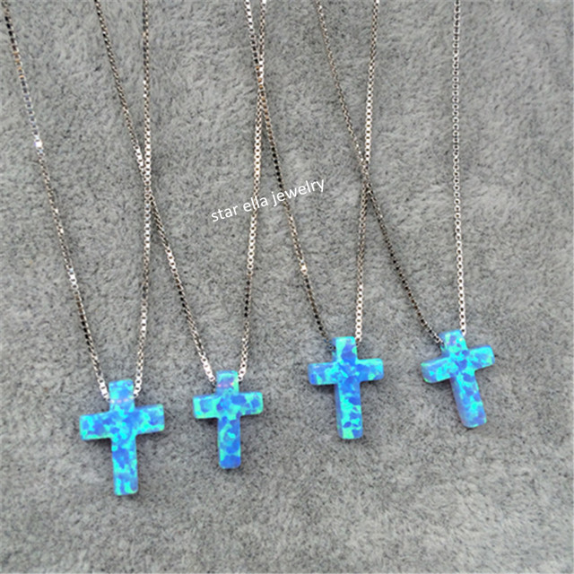 Light Blue Necklaces