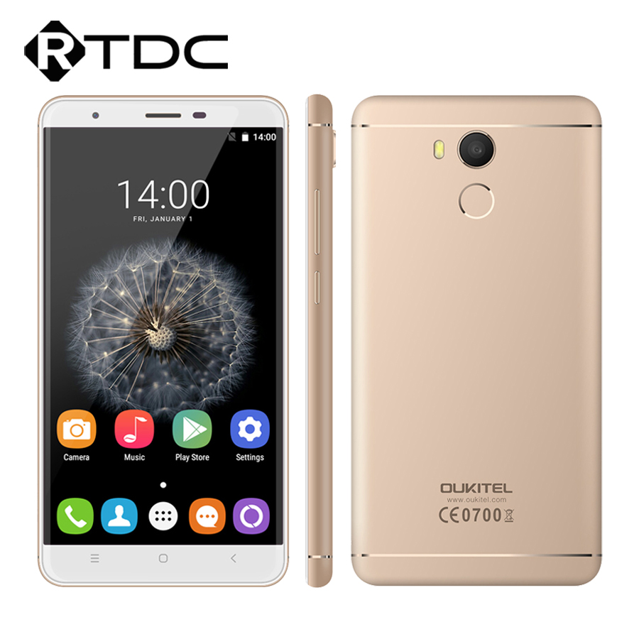 Цена за Оригинал Oukitel U15 Pro 4 Г LTE MT6753 Окта основные Android 6.0 5.5 ''HD 3 Г RAM 32 Г ROM 16.0MP 3000 мАч Отпечатков Пальцев ID Мобильный Телефон
