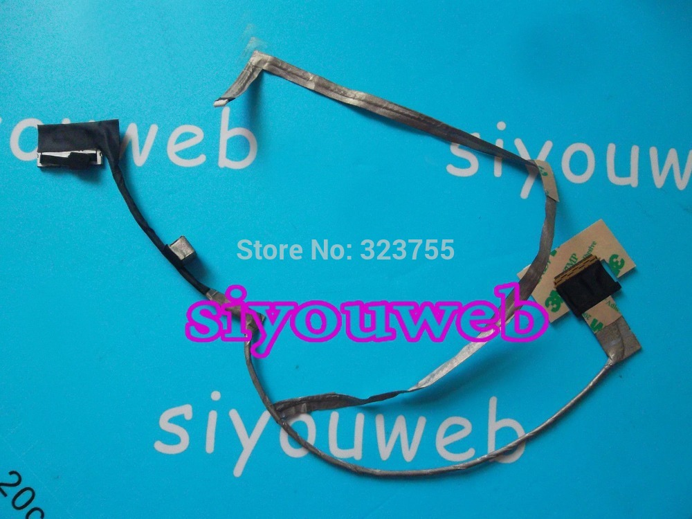 Free Shipping ,NEW LCD Video Cable for ASUS K53 A53 X53 K53E K53S X53E X53SJ X53SV laptop cable P/N DC02001av20 genuine new free shipping original for asus u30jc u30j u30sd u30 u30s lcd video screen cable 14g140309001