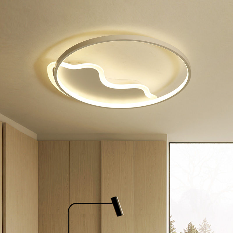 Surface Mounted Modern Ceiling Lights LED Lamp for home Bedroom Living Dining room AC90-265V Ceiling Lamp with remote controls surface mounted ceiling lights for living study room bedroom home dec plafonnier ac90 260v modern remote control lamp home decor