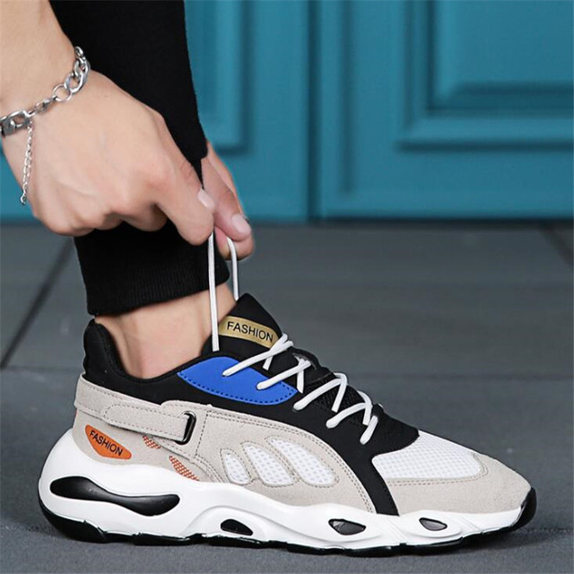 7125e4debb6 Spring/autumn New Models Men Shoes 2019 Fashion Comfortable Youth Casual  Shoes For Male Soft