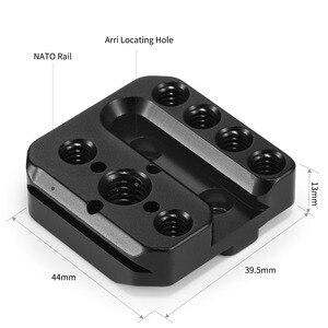 Image 3 - SmallRig Kamera Montage Platte für DJI Ronin S & für Ronin SC W/ Nato Schiene Arri Ortung Löcher fr Magie Arm Griff Befestigen 2214