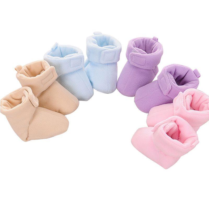 Shoes First-Walkers Anti-Slip Newborn Infant Girls Boys Cartoon 4-Colors Socks