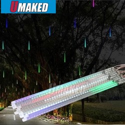 10tubes/set 80cm SMD5050 24V 108leds/tube LED snow fall,LED christmas light, waterproof raining tube, led meteor tube