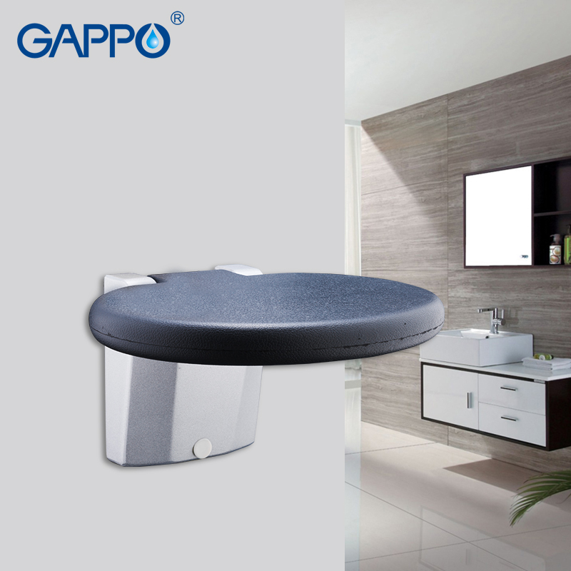 GAPPO Wall Mounted Shower Seat folding benches for kids toilet folding shower chairs Bath shower Stool Cadeira bath chairGAPPO Wall Mounted Shower Seat folding benches for kids toilet folding shower chairs Bath shower Stool Cadeira bath chair