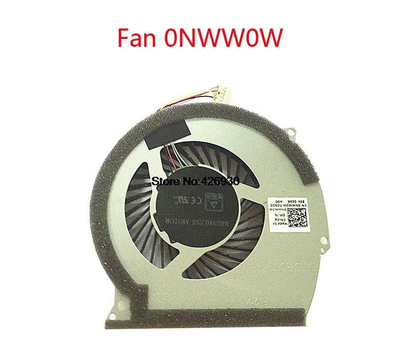 Dell Inspiron 15 7567 P65F FJ2M DFS541105FC0T DC280001OF0 0NWW0W CPU Cooling Fan