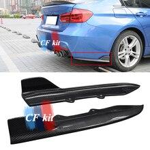 CF комплект OTD стиль задний бампер спойлер для BMW F30 MT Настоящее углеродное волокно M Tech сплиттеры стайлинга автомобилей
