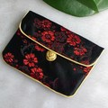 Classic Small Jewellery Gift Bags Ring Pendant Necklace Bracelet Storage Chinese Style Silk Wedding Favor Packaging Pouches