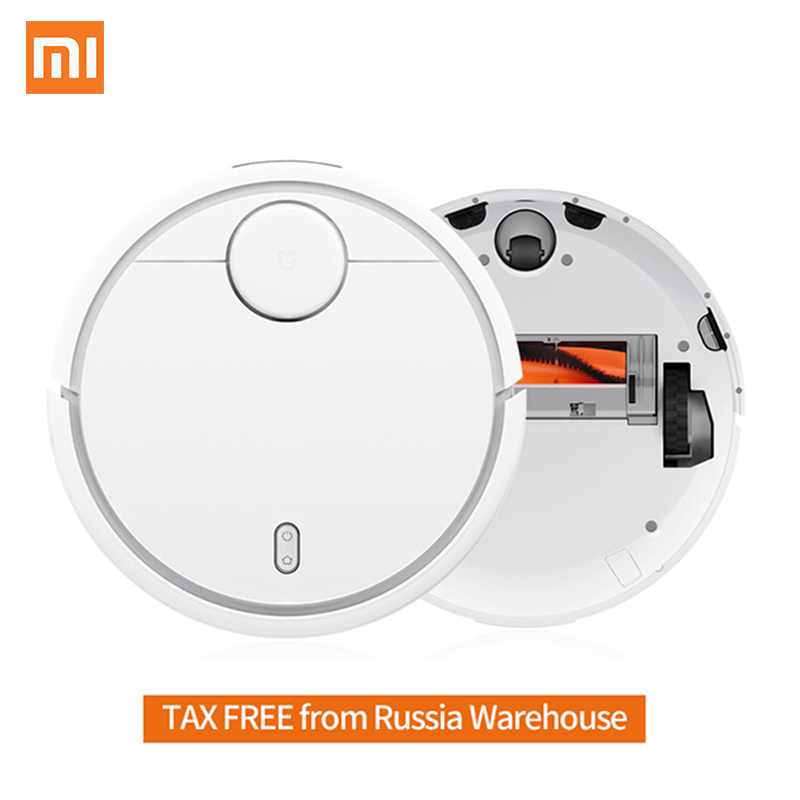 Original XiaoMi MI Robot Vacuum Cleaner for Home Automatic Sweeping Smart Planned WIFI APP Control Dust Sterili Cleaning original xiaomi mi robot vacuum