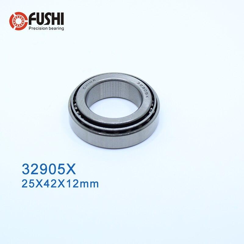 32905 X Bearing 25*42*12 mm ( 1 PC ) Tapered Roller Bearings 32905X 2007905E Bearing32905 X Bearing 25*42*12 mm ( 1 PC ) Tapered Roller Bearings 32905X 2007905E Bearing