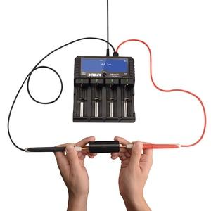 Image 3 - Originele Nieuwe Xtar Dragon VP4 Plus Smart Batterij Chargerset Met Pouch Probes Adapter En Autolader Voor 18650 En Batterij pack
