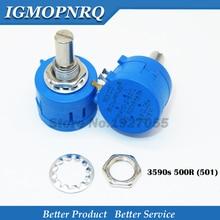 1PCS 3590S-2-501L 3590S 500 ohm 501 3590S-2-501 3590S-501Precision adjustable resistance series new