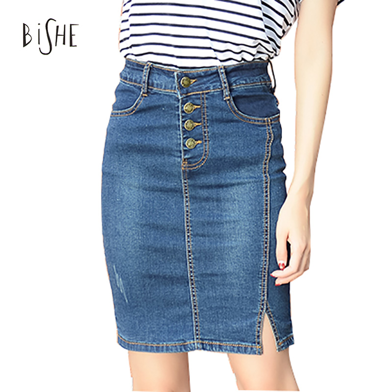 Online Get Cheap Plus Size Denim Skirts -Aliexpress.com | Alibaba ...