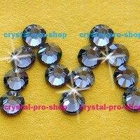 Swarovski Elements Silver Night SINI No Hotfix Or Hotfix Iron On Ss5 Ss34 2mm 7mm Crystal