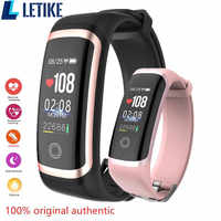 Letike M4 Fitness Newest chip Nrf52832 Watch real-time dynamic Heart Rate & blood pressure monitor smart bracelet band
