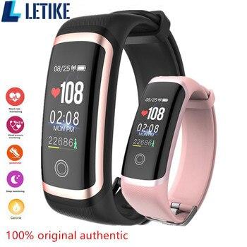 476f72529010 Letike M4 rastreador de Fitness nuevo chip Nrf52832 reloj en tiempo real  dinámico ritmo cardíaco y monitor de presión arterial pulsera inteligente  ...