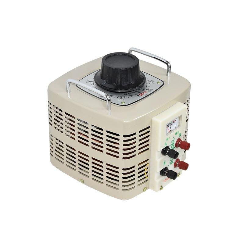 купить 5KVA Voltage regulator household single phase variac 0-300v voltage converter power converter voltage transformer 220V по цене 26060.16 рублей