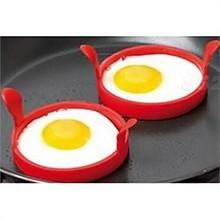 1Pcs Silicone Fried Frier Oven Poacher Pancake Egg Poach Ring Mould Kitchen ( Random Color)