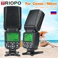 TRIOPO TR-988 Flash profesional Speedlite TTL Flash de la cámara con alta velocidad de sincronización para Canon y Nikon cámara réflex Digital superior vender