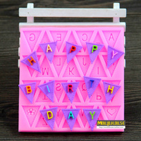 Wholesale/retail,free shipping,Banner stereo capital letters shape cake mould polymer clay dry Perth glue clay