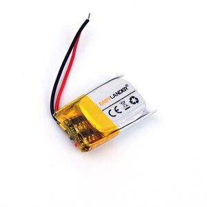 5x12x21 3.7V 90mAh Rechargeable li Polymer Li-ion Battery For bluetooth headset mouse Bracelet Wrist Watch 501221 051221 481221(China)