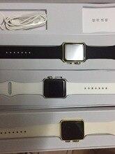 Iwo 1:1 smart watch w51 dm09 ip65กันน้ำบลูทูธsmart watchไร้สายชาร์จคริสตัลแซฟไฟร์werableอุปกรณ์apple watch