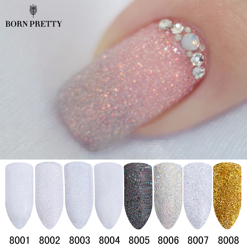 Holographic Nail Glitter Powder Gradient Shining Sugar Nail Glitter Pył Powder Nail Art Decorations Set