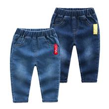 Nowy dla dzieci chłopcy dżinsy dla jesień zima dziewczyny dżinsy dla dzieci odzież dla niemowląt spodnie jeansowe chłopiec spodnie dla dzieci dżinsy dla chłopców prezenty tanie tanio YK Loving Na co dzień Elastyczny pas Pasuje prawda na wymiar weź swój normalny rozmiar 905-125CM REGULAR light Stałe