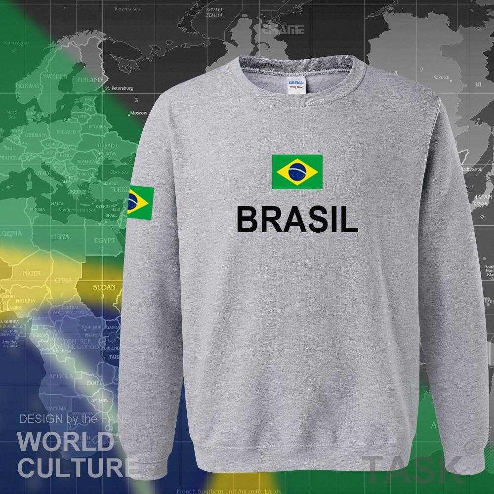 Image 5 - Brazil hoodie men sweatshirt sweat new streetwear 2017 tops jerseys clothing tracksuit nation Brazilian flag Brasil fleece BRmen sweatshirthoodies menmen hoodies sweatshirts -