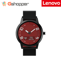 Lenovo Smart Watch X Sports 5ATM Waterproof OLED Display Edition Bluetooth 5.0 Luminous Pointer Smartwatch Silicone Strap