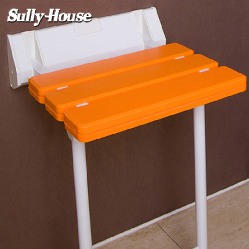 Sully House Anti skid Shower Folding Seat with stool legs,Bathroom ...