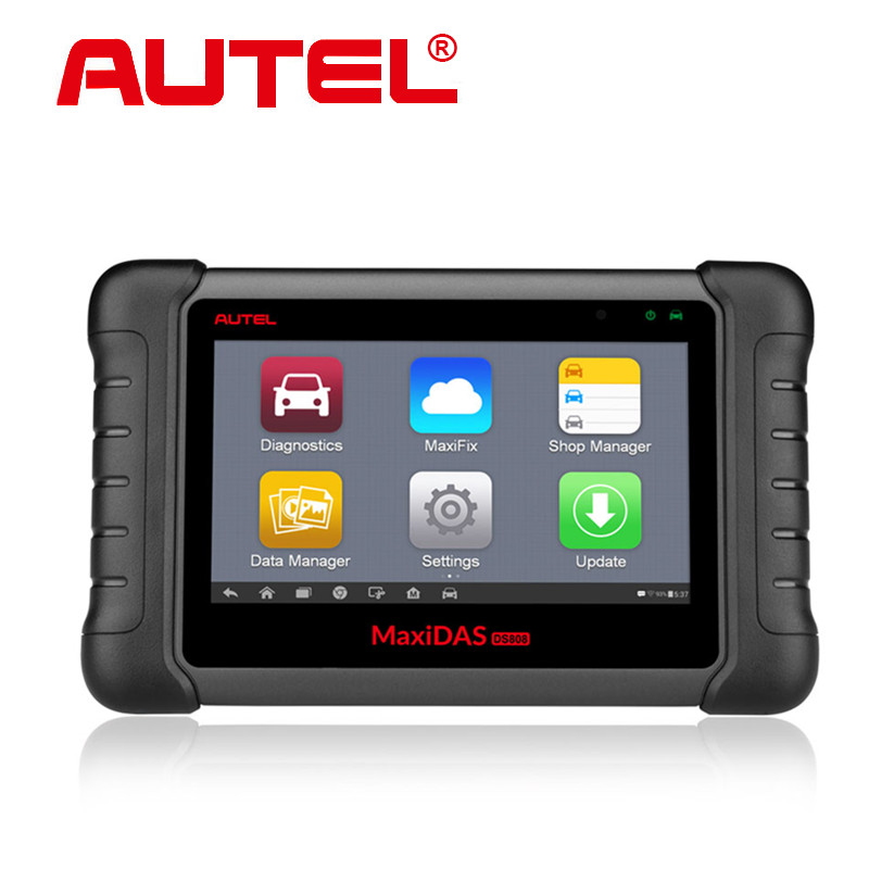 100% Original Autel MAXIDAS DS808 Scanner on line Update From Autel DS 708 Internet Same Function As Scanner MS906