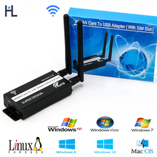 цена на mini pci-e to Mini USB Adapter With sim card Slot for wwan/lte/gsm/hspa/GPS 3G/4G wireless Mini pci-e card ,lte mini pci