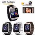 Умные часы с Bluetooth  умные наручные часы  поддержка камеры телефона  SIM  TF  GSM  для Android  iOS  телефона dz09 a1  для мужчин и женщин