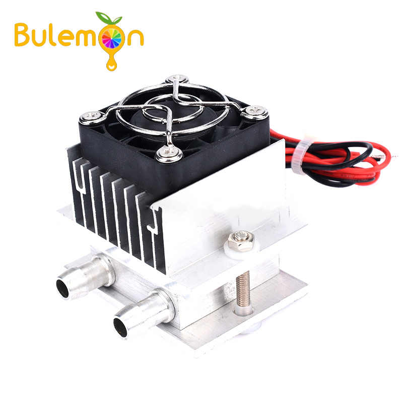 12V Semikonduktor Refrigeration Chip Set DIY Air Cooled Kepala Sistem Pendingin Kit Pendingin Komponen Elektronik Kulkas