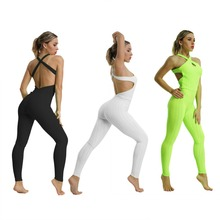 5397744b1b8 Sports Jumpsuit Yoga Jumpsuit Fitness Sport Suit Women Tracksuit Yoga Set  Backless Gym Running Set Sport