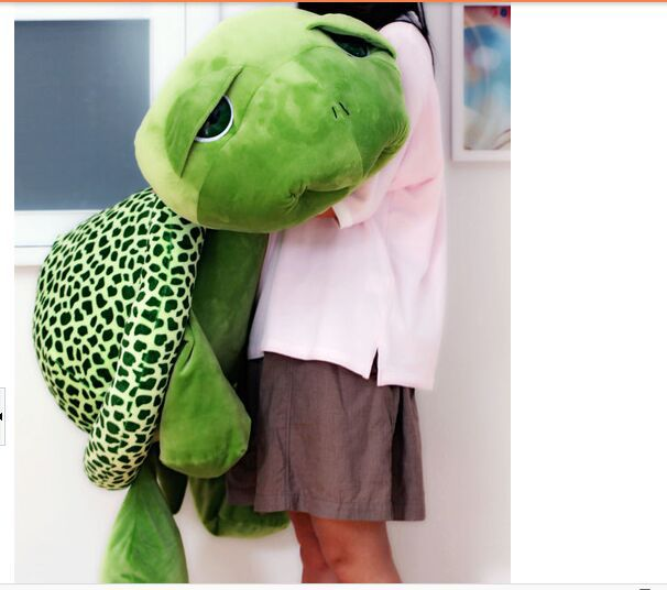 stuffed plush toy big eyes turtle , tortoise soft toy hugging pillow,birthday gift b4883 plush toy turtle large turtles doll big fluffy pillow doll birthday gift to men and women turtle about 55cm