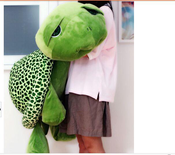 stuffed plush toy big eyes turtle , tortoise soft toy hugging pillow,birthday gift b4883 huge 90cm gaint panda plush toy soft hugging pillow birthday gift christmas gift h2940