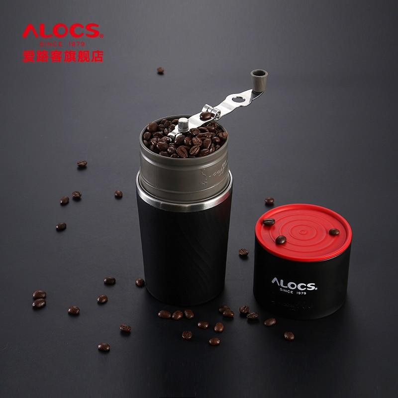 Hand Coffee Maker Eluker Alocs Outdoor Grinding Hand Made Coffee Kettle Portable Mini Coffee Machine