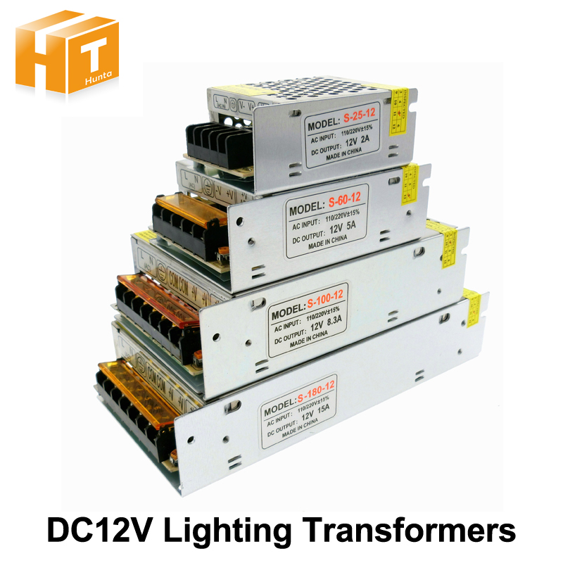 Lighting Transformers DC12V High Quality LED Lights Driver for LED Strip Power Supply 60W 100W 200W 300W 400W 500W 600W ...
