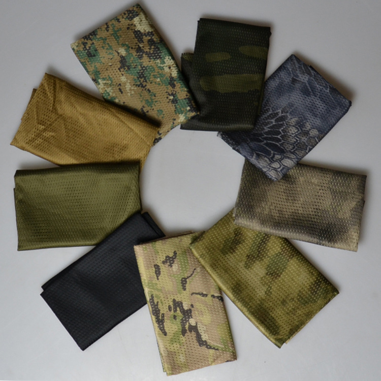 Military Camouflage Tactical Scarf Keffiyeh Army mesh breathable Arabic Shemagh palestine Tube magic Wrap bandana motorcycle q01
