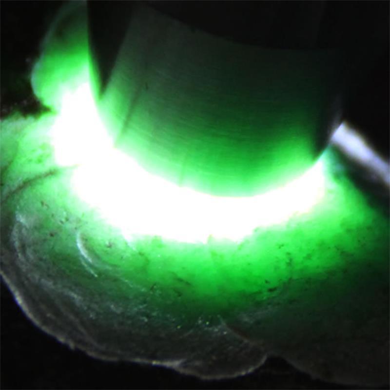 CREE Q5 LED Flashlight Jade Test Torch Lamp White/Warm White Light Jewelry  Identification Stainless Steel Flash Lights In Flashlights U0026 Torches From  Lights ...