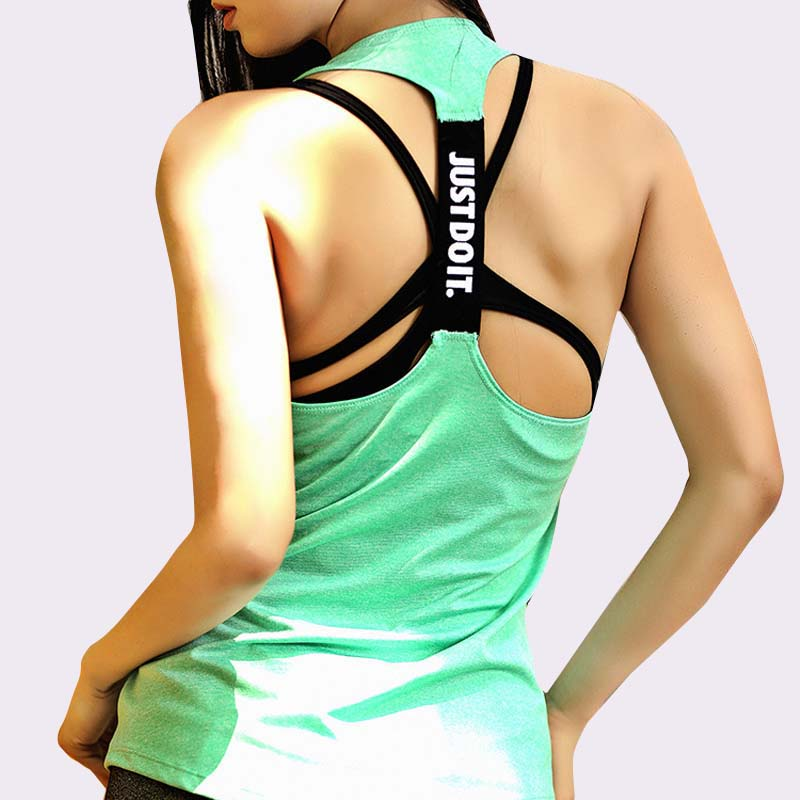 Women Sleeveless Fitness Vest Exercise Workout Sports T-Shirts Fitness Running Sport Vest Yoga top Gym Clothing T-ShirtWomen Sleeveless Fitness Vest Exercise Workout Sports T-Shirts Fitness Running Sport Vest Yoga top Gym Clothing T-Shirt