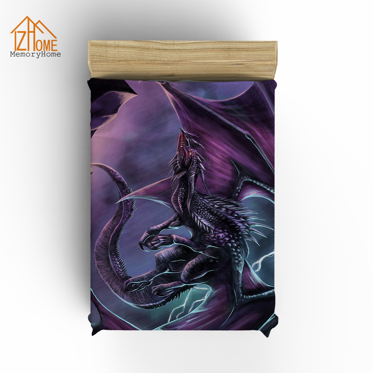 Memory Home Personalized Blanket Magic Dragon Mysterious