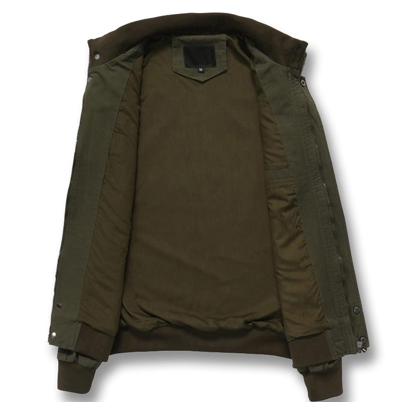 Equipado Militar Slim Cremallera Streetwear Hombres Casual 2018 verde Otoño Moda Hombre Masculina De Abrigos Talla Plus Y caqui Negro Chaquetas U6FAngwOFq